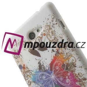 Gelové pouzdro na Sony Xperia M2 D2302 - motýl - 5