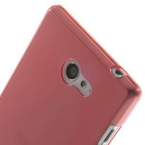 Gelové Ultraslim pouzdro na Sony Xperia M2 D2302- červené - 5
