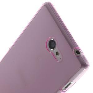 Gelové Ultraslim pouzdro na Sony Xperia M2 D2302- růžové - 5