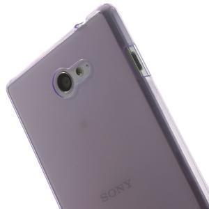 Gelové Ultraslim pouzdro na Sony Xperia M2 D2302- fialové - 5