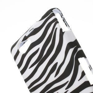 Pouzdro na Sony Xperia Z1 Compact D5503- zebrované - 5