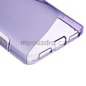 Gelové S-line  pouzdro pro LG Optimus L9 II D605-fialové - 5