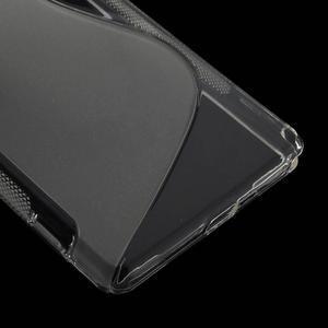 Gelové S-line pouzdro na Sony Xperia Z2 D6503- transparentní - 5