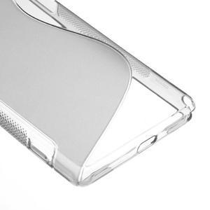 Gelové S-line pouzdro na Sony Xperia Z2 D6503- šedé - 5