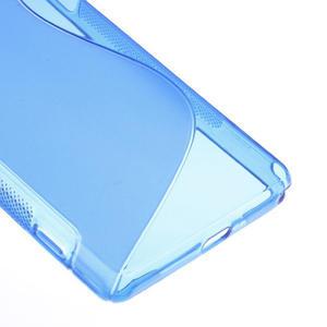 Gelové S-line pouzdro na Sony Xperia Z2 D6503- modré - 5