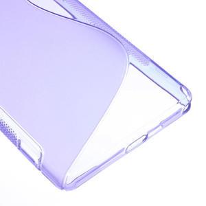 Gelové S-line pouzdro na Sony Xperia Z2 D6503- fialové - 5