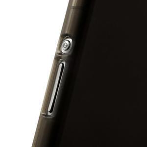 Gelové matné pouzdro na Sony Xperia Z2 D6503- šedé - 5