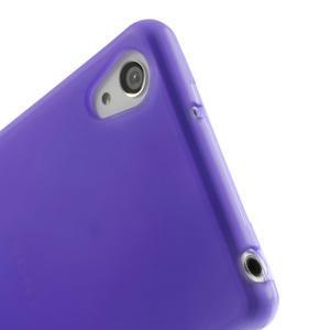 Gelové matné pouzdro na Sony Xperia Z2 D6503- fialové - 5