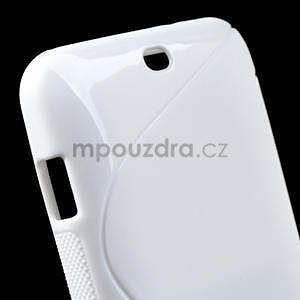 Gelové S-line pouzdro pro HTC Desire 200- bílé - 5