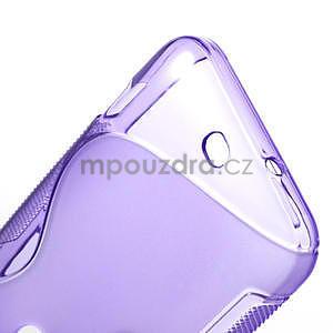 Gelové S-line pouzdro pro HTC Desire 200- fialové - 5