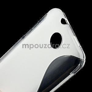 Gelové S-line pouzdro pro HTC Desire 300 Zara mini- transparentní - 5