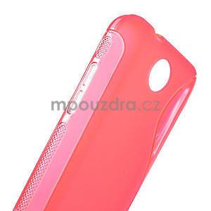 Gelové S-line pouzdro pro HTC Desire 300 Zara mini- růžové - 5