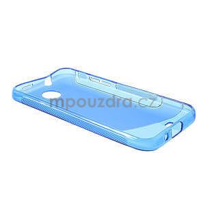 Gelové S-line pouzdro pro HTC Desire 300 Zara mini-modré - 5