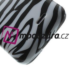 Gelové pouzdro na HTC Desire 310- zebrované - 5