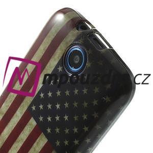 Gelové pouzdro na HTC Desire 310- USA vlajka - 5