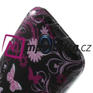 Gelové pouzdro na HTC Desire 310- motýlci - 5