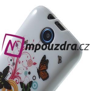 Gelové pouzdro na HTC Desire 310- barevné motýlci - 5