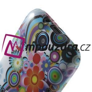 Gelové pouzdro na HTC Desire 310- barevné květy - 5