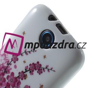 Gelové pouzdro na HTC Desire 310- kvetoucí větvička - 5