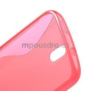 Gelové pouzdro pro HTC Desire 500- růžové - 5