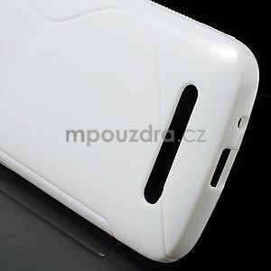 Gelové pouzdro pro HTC Desire 500- bílé - 5