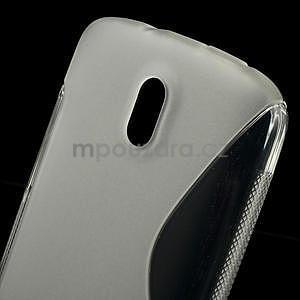 Gelové pouzdro pro HTC Desire 500- transparentní - 5