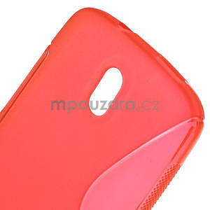 Gelové pouzdro pro HTC Desire 500- červené - 5