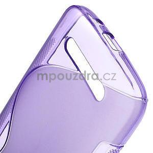 Gelové pouzdro pro HTC Desire 500- fialové - 5