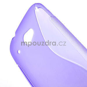 Gelove S-line pouzdro pro HTC Desire 601- fialové - 5
