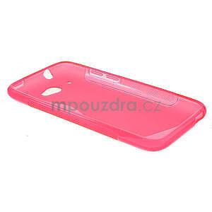 Gelove S-line pouzdro pro HTC Desire 601- růžové - 5