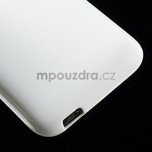 Gelové pouzdro pro HTC Desire 601- bílé - 5