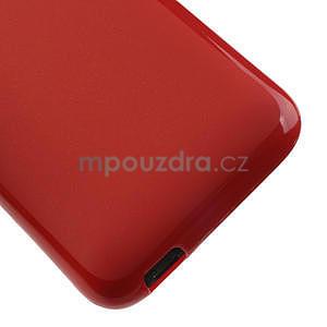 Gelové pouzdro pro HTC Desire 601- červené - 5