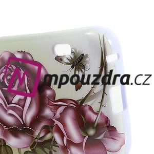 Gelová pouzdro pro LG Optimus L5 Dual E455- Růže - 5
