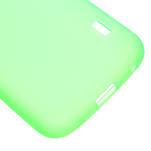 Matné gelové pouzdro pro LG Optimus L5 Dual E455- zelené - 5/6