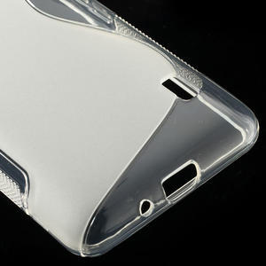Gelové S-line pouzdro na LG Optimus F6 D505- transparentní - 5