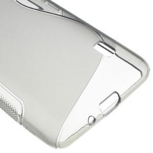 Gelové S-line pouzdro na LG Optimus F6 D505- šedé - 5