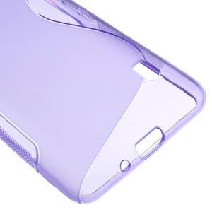 Gelové S-line pouzdro na LG Optimus F6 D505- fialové - 5