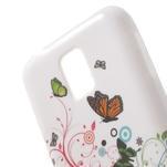Gelové pouzdro na Samsung Galaxy S5 mini G-800- motýli - 5/5