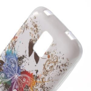Gelové pouzdro na Samsung Galaxy S5 mini G-800- barevný motýl - 5