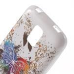 Gelové pouzdro na Samsung Galaxy S5 mini G-800- barevný motýl - 5/5