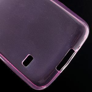 Gelové 0.6mm pouzdro na Samsung Galaxy S5 mini G-800- růžové - 5