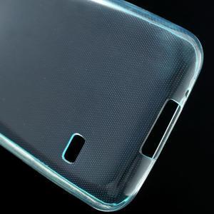 Gelové 0.6mm pouzdro na Samsung Galaxy S5 mini G-800- světlemodré - 5