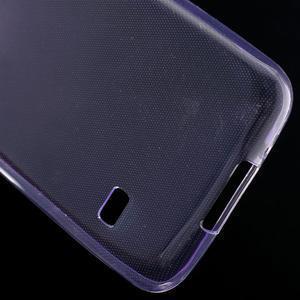 Gelové 0.6mm pouzdro na Samsung Galaxy S5 mini G-800- fialové - 5