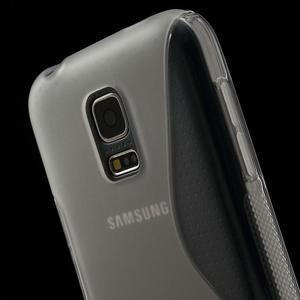 Gelové S-line pouzdro na Samsung Galaxy S5 mini G-800- transparentní - 5