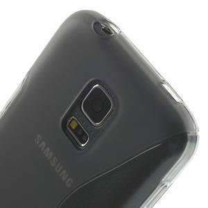 Gelové S-line pouzdro na Samsung Galaxy S5 mini G-800- šedé - 5