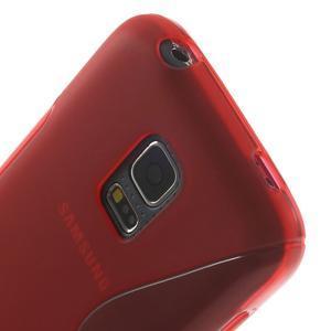 Gelové S-line pouzdro na Samsung Galaxy S5 mini G-800- červené - 5