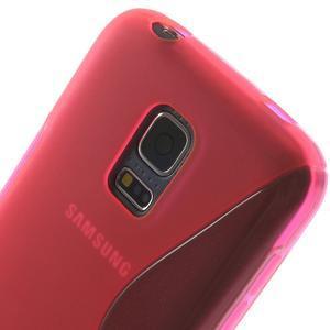 Gelové S-line pouzdro na Samsung Galaxy S5 mini G-800- růžové - 5