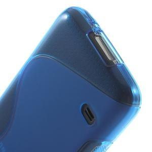 Gelové S-line pouzdro na Samsung Galaxy S5 mini G-800- modré - 5
