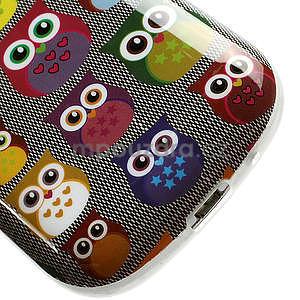 Gelové pouzdro pro Samsung Galaxy S3 mini / i8190 - mini Sovy - 5