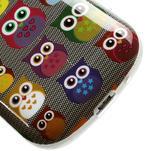 Gelové pouzdro pro Samsung Galaxy S3 mini / i8190 - mini Sovy - 5/5